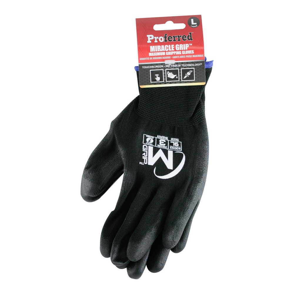 Polyurethane Coated Industrial Gloves