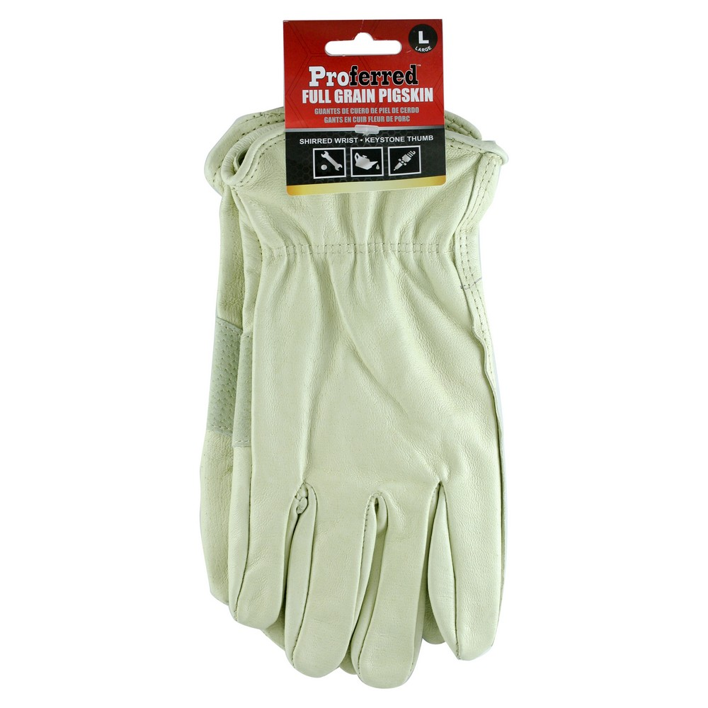 Pigskin Industrial Gloves